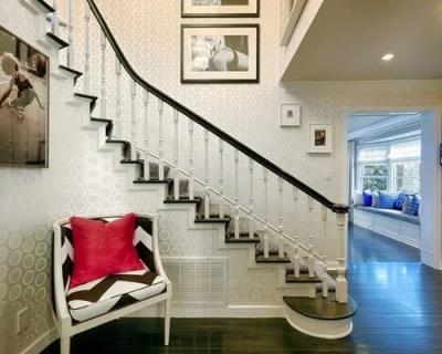 Stair Wallpaper   Houzz
