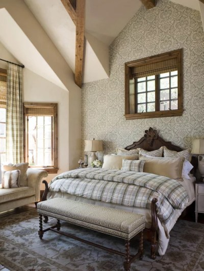 Wallpaper Accent Wall Home Design Ideas, Pictures, Remodel and Decor
