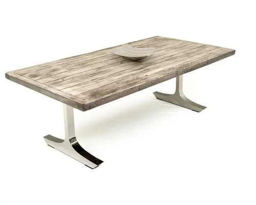 modern rustic dining table tables contemporary furniture