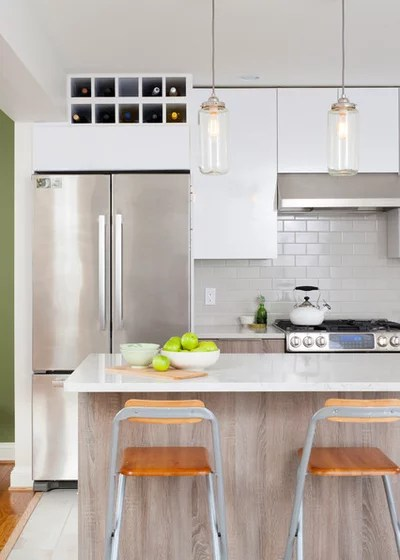 Contemporary Kitchen by April Case Underwood