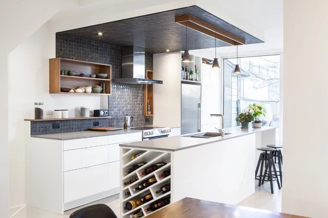 Contemporary Kitchen by Wanda Ely Architect Inc.