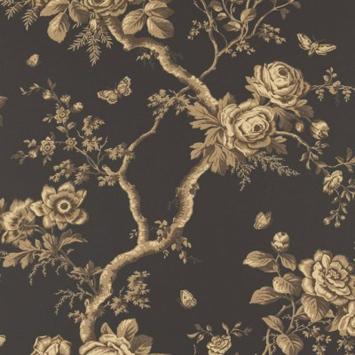 Ralph Lauren Designer Wallpaper Wallpaper ASHFIELD FLORAL - Contemporary - Wallpaper - by Steve ...