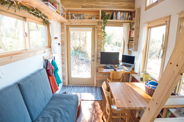 Living In A Tiny House Contemporary Room By The Project On Decorating Ideas