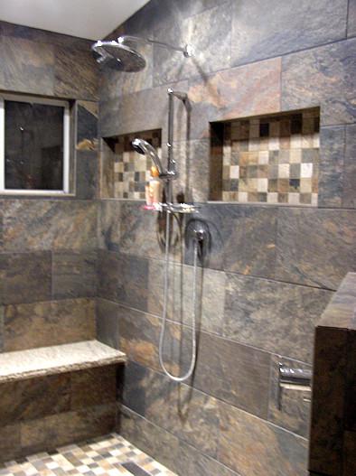 R Contemporary Bathroom In Phoenix