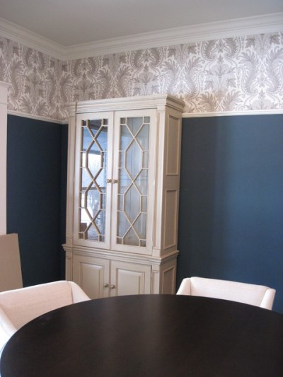 wallcovering projects - Traditional - Dining Room ...