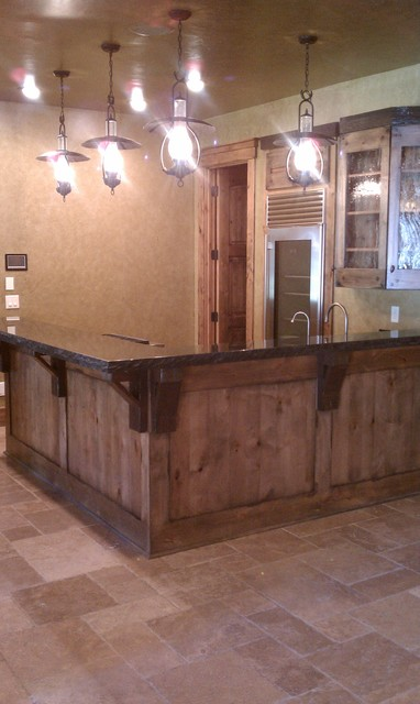 Fine Rustic Man Cave Bar Miners Rusticbasement On Decorating