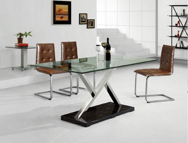modern metal furniture contemporarydiningroom