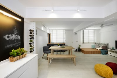 5 3-room HDB Flats with Space-Maximising Designs | Houzz