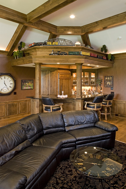 Home Office Bar Traditionalhomeoffice  Houzz