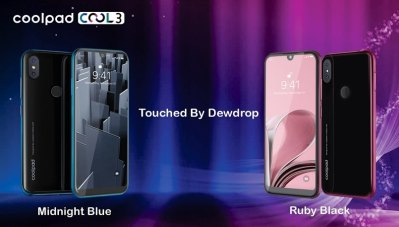 Coolpad Cool 3 with 'Dewdrop' notch display, dual-rear camera, Android 9.0 Pie launched at Rs ...