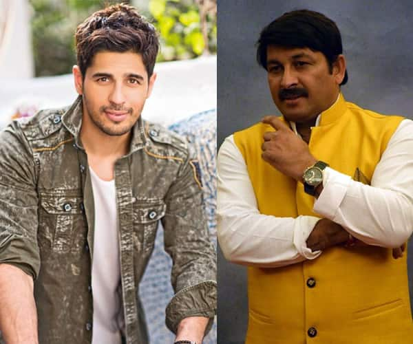 SHOCKING  Manoj Tiwari reveals that FIRs have been filed against     Manoj Tiwari reveals that FIRs have been filed against Sidharth Malhotra  for his comment on Bhojpuri language   Bollywoodlife com