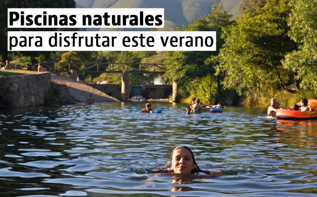 piscinas naturales para disfrutar en verano