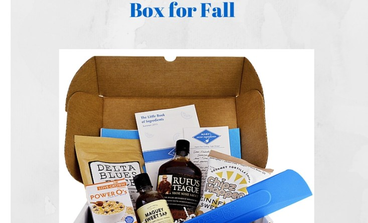 Win Mary's Secret Ingredient Box for Fall