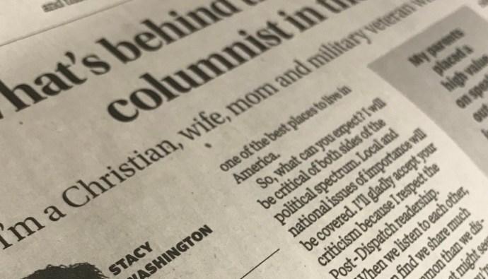 Stacy Washington, St. Louis Post Dispatch Opinion Columnist