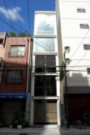Villa i Nipponbashi (House Nipponbashi). Arkitekt Waro Kishi. Foto: Hiromitsu Morimoto