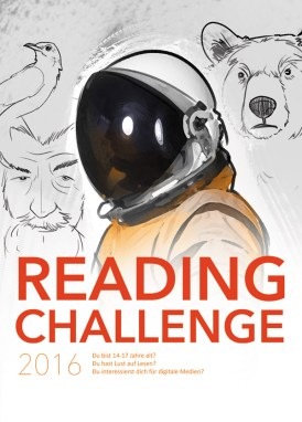 Plakat zur Reading Challenge 2016