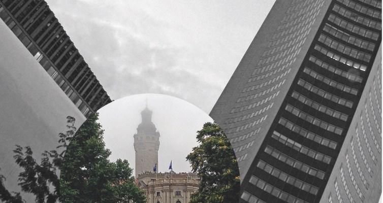 Türme und Glocken in der Innenstadt