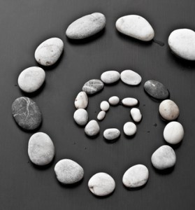 Spirale di pietre