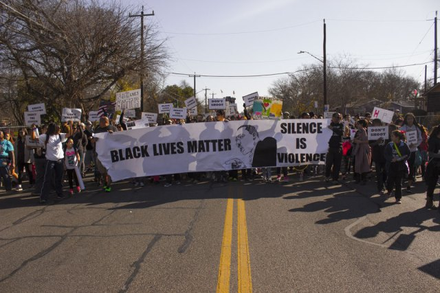 Marting Luther King March In San Antonio 2015