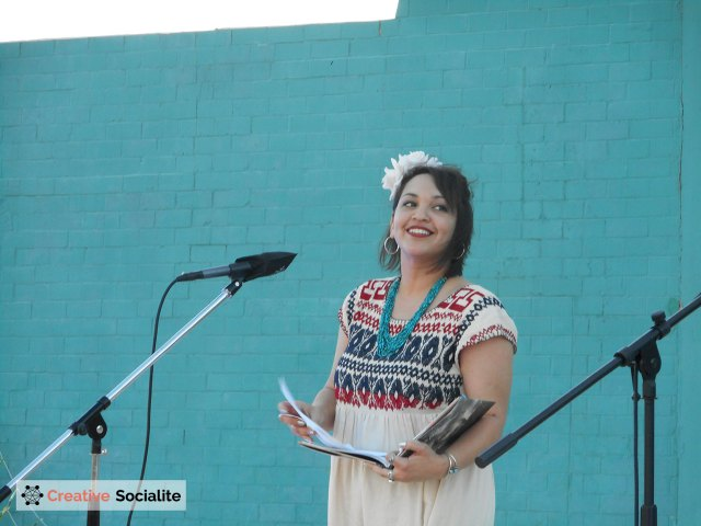 Laurie Ann Guerrero is San Antonio's Poet Laureate. She will become the Texas Poet Laureate in 2016.