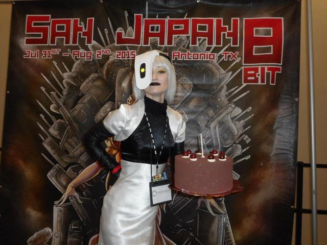 """GLaDOS works for the Aperture Science research facility. """"I test people to make sure they are smart enough to be in the real world,"""" she said. We need someone like her during the upcoming presidential campaign. """"The cake is real,"""" she insists. """"It is not alive."""""""