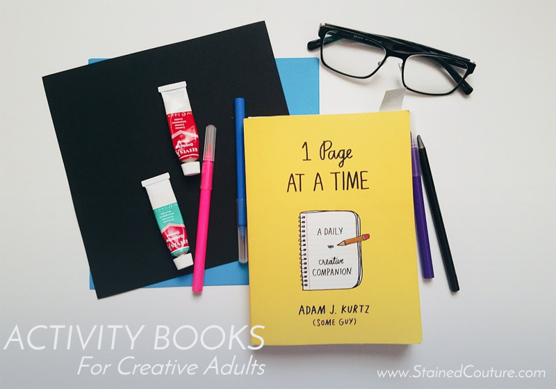 adult activity books
