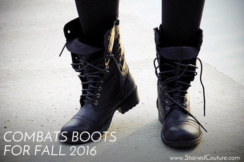 combat boots for fall