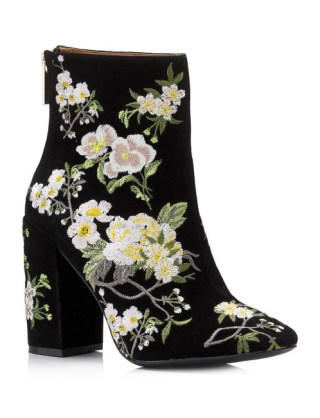 fall statement shoes floral