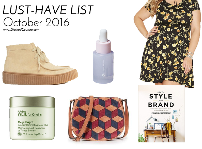 lust-have list october 2016
