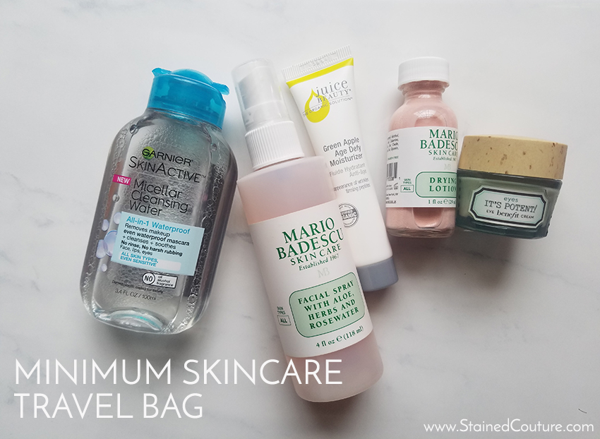 minimun skincare travel bag