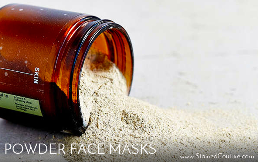 powder face masks