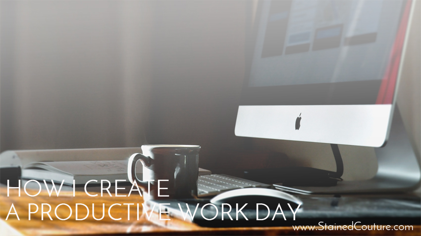 create productive work day
