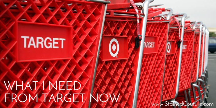 things I need from Target right now