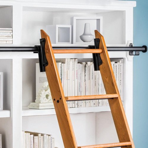 Fetching Library Sliding Ladders Library Sliding Ladders Staircase Design Fire Escape Bookshelf Fire Escape Bookshelf Manufacturer