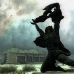 Памятник в городе Припять смотреть
