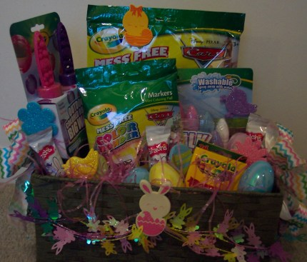 giveaway: crayola ultimate easter basket