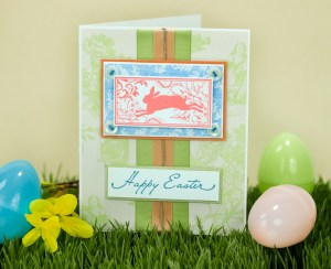 Project: Elegant Easter Card