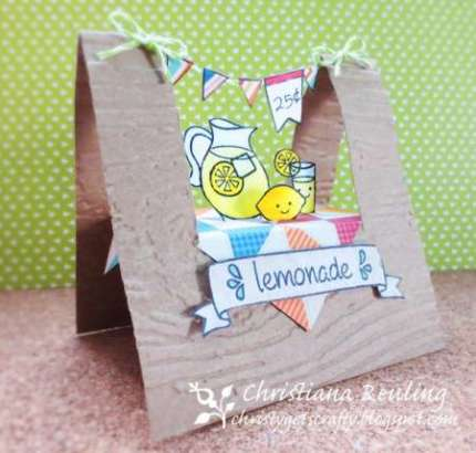 Project: Lemonade Stand Card