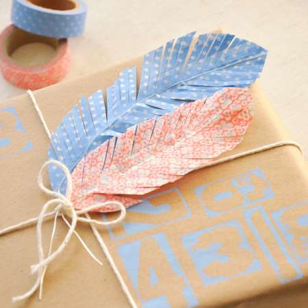 Project: Washi Feathers