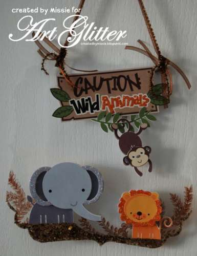Project: Wild Animal Wall Hanging