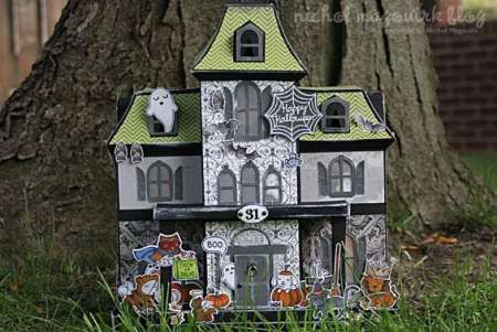 Inspiration: Paper Haunted House