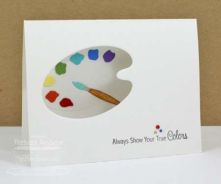 Tip: Peek a Boo Die Cut Card