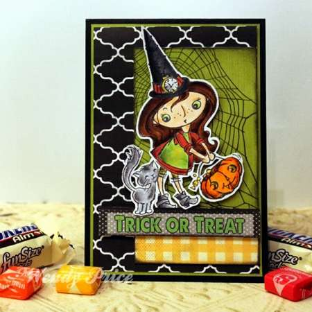 Project: Halloween Witch Card