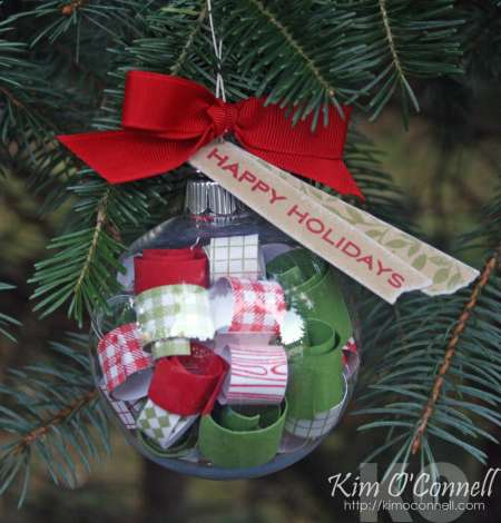 Project: Paper Filled Ornament