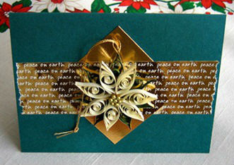 Project: Quilled Christmas Card