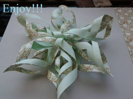 Project: 3D Paper Snowflake
