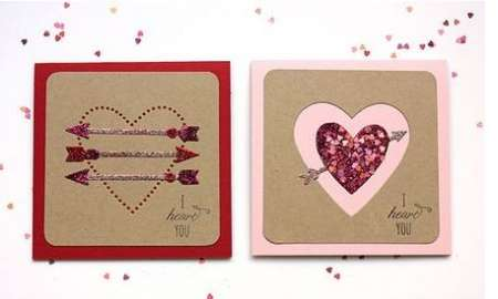 Project: Glitter Card Embellishments