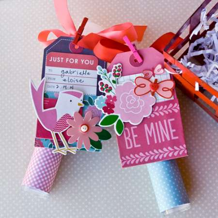 Project: Valentine Candy Holders