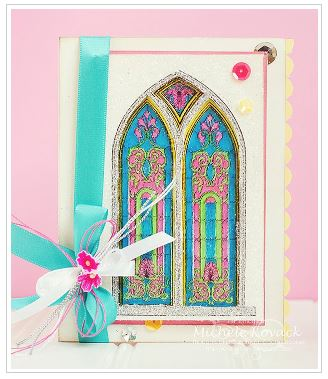 Project: Stained Glass Window Card
