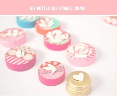 Project: DIY Stamps from Bottle Caps